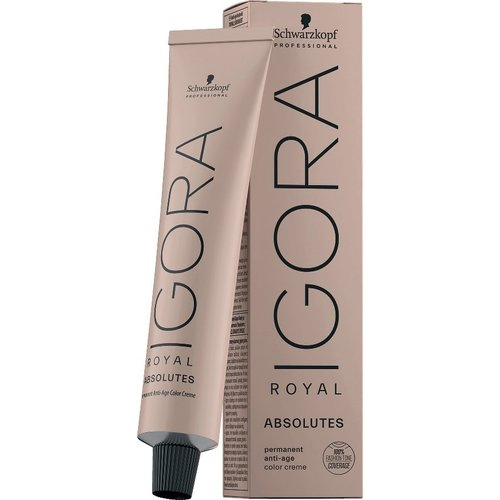 IGORA ROYAL ABSOLUTES 7-10 Mittelblond Cendré Natur 60ml