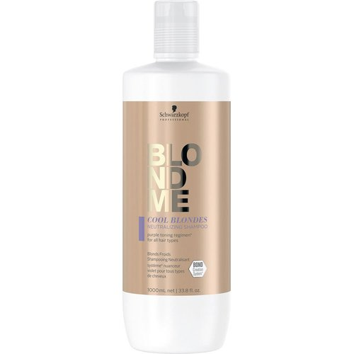 BLONDME Cool Blond Enhance Bond Shampoo 1000 ml