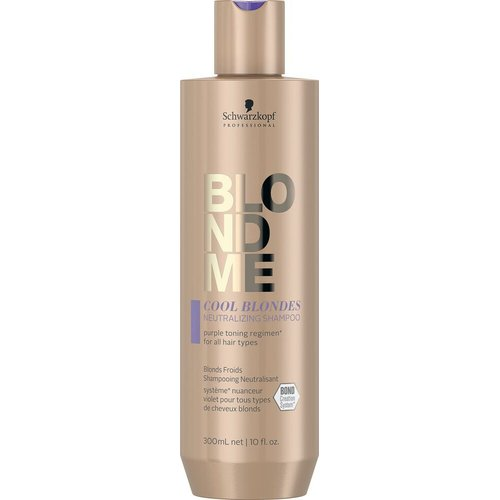 BLONDME Cool Blond Enhance Bond Shampoo 250 ml