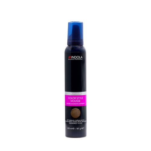 INDOLA COLOR STYLE MOUSSE Rot 200ml